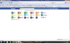 Visual TV per facebook